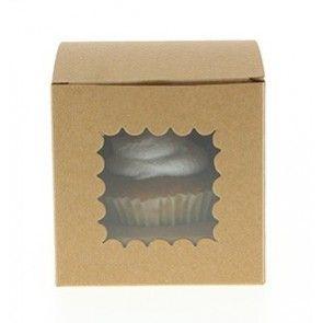 Κουτάκια για cupcake kraft Sambellina