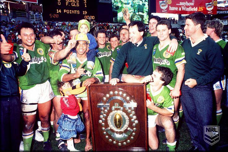 Canberra Raiders - 1989 #NRL Premiers