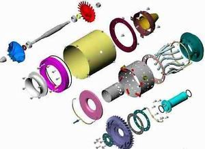 Building a Turbine Engine | build your own model jet turbine engine See original listing