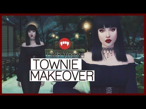 The Sims 4 || Townie Makeover: Lilith Vatore - YouTube | Sims 4
