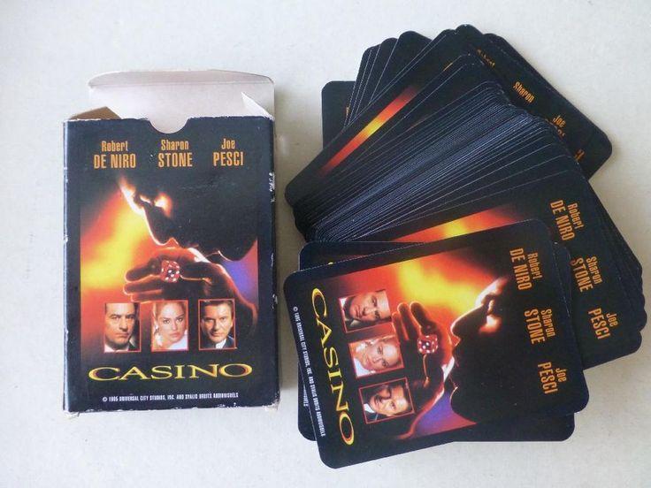 Casino 1995 Playing Cards Robert De Niro Sharon Stone Joe Pesci   http://r.ebay.com/xq8ofD