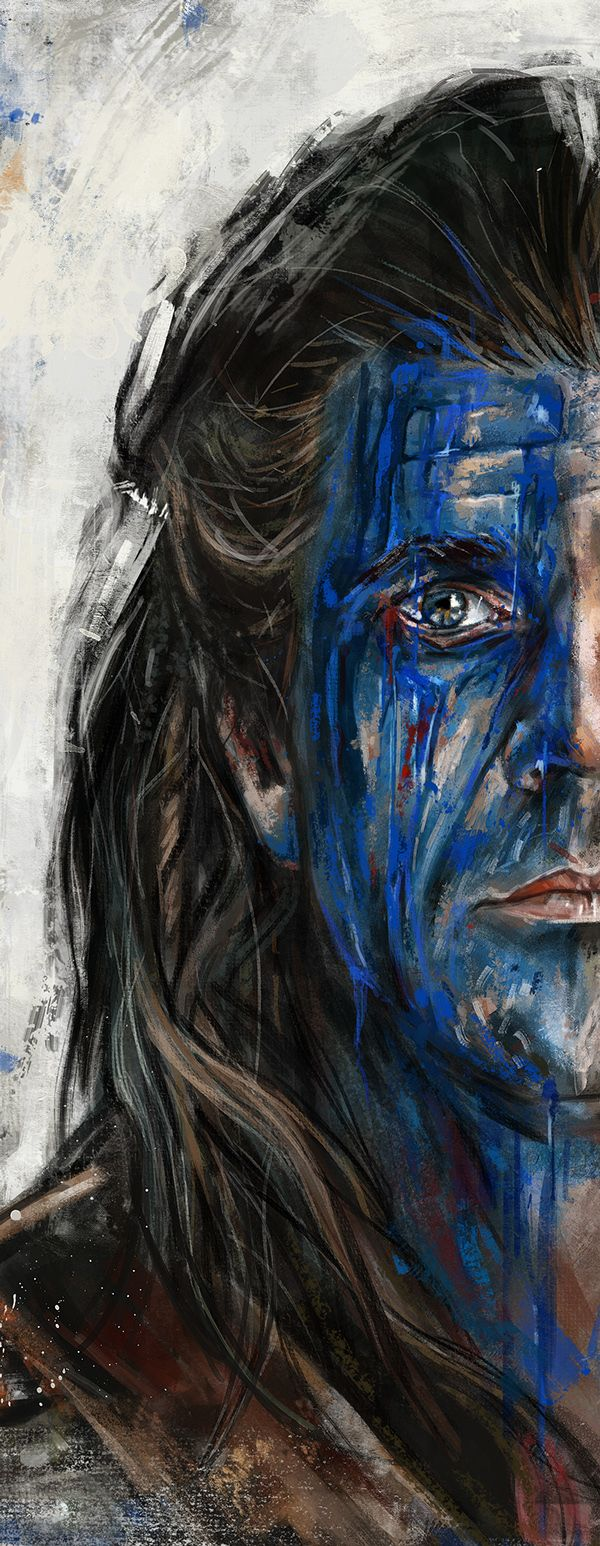 William Wallace - Braveheart on Wacom Gallery