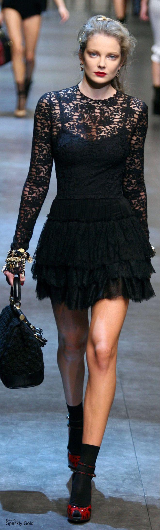 Dolce & Gabbana S/S 2010