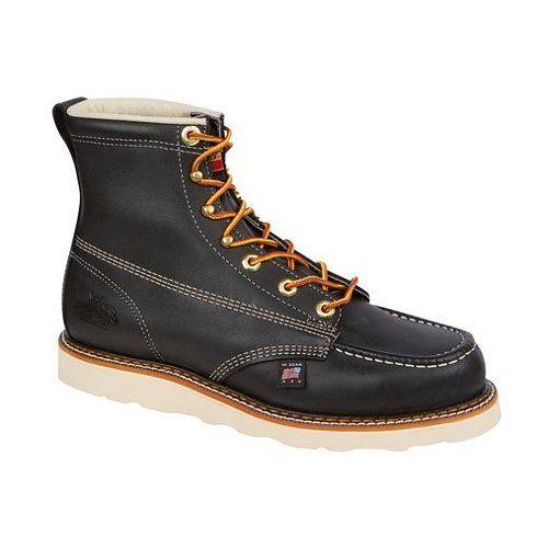 "Thorogood 6"" Moc Safety Toe Boots at RevZilla.com"