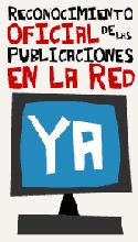 Reconocimiento Oficial de las Publicaciones en la Red YA!