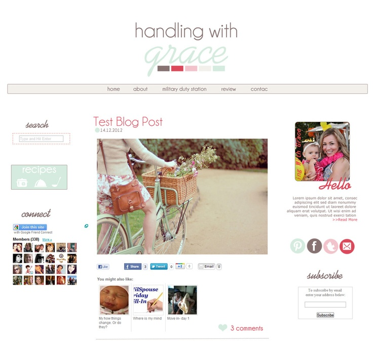 Handling with Grace blog by Jackie's Design Studio