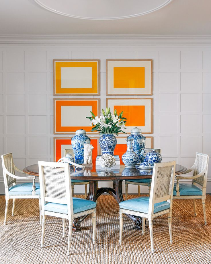 The Dining Room Existing 12 X Wall Panels Were Reinstalled To Form A