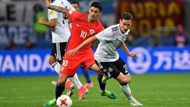 Germany has recouped in a match against Chile on the Cup of Confederations-2017