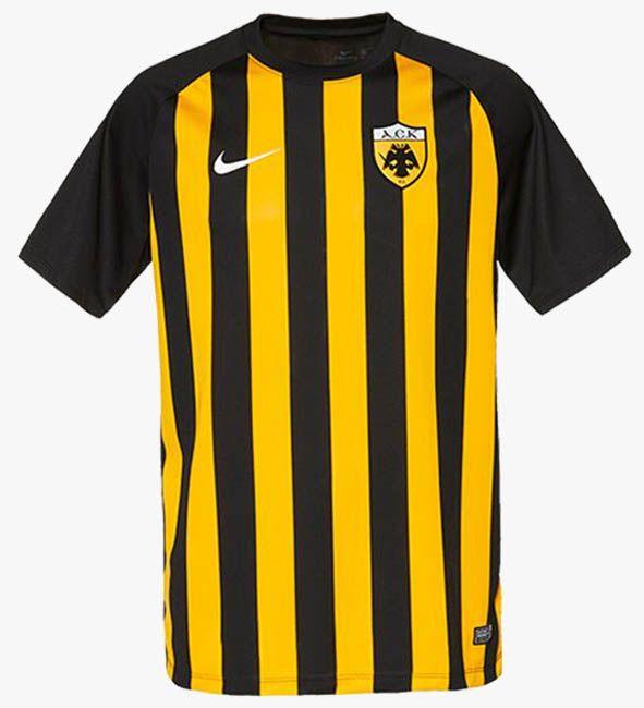 Nike AEK Athens 17-18 Home Kits Released - Footy Headlines