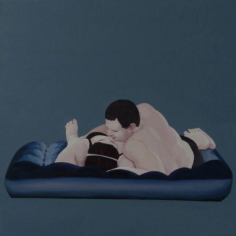 Love, 50cmx50cm, olej, płótno, 2011