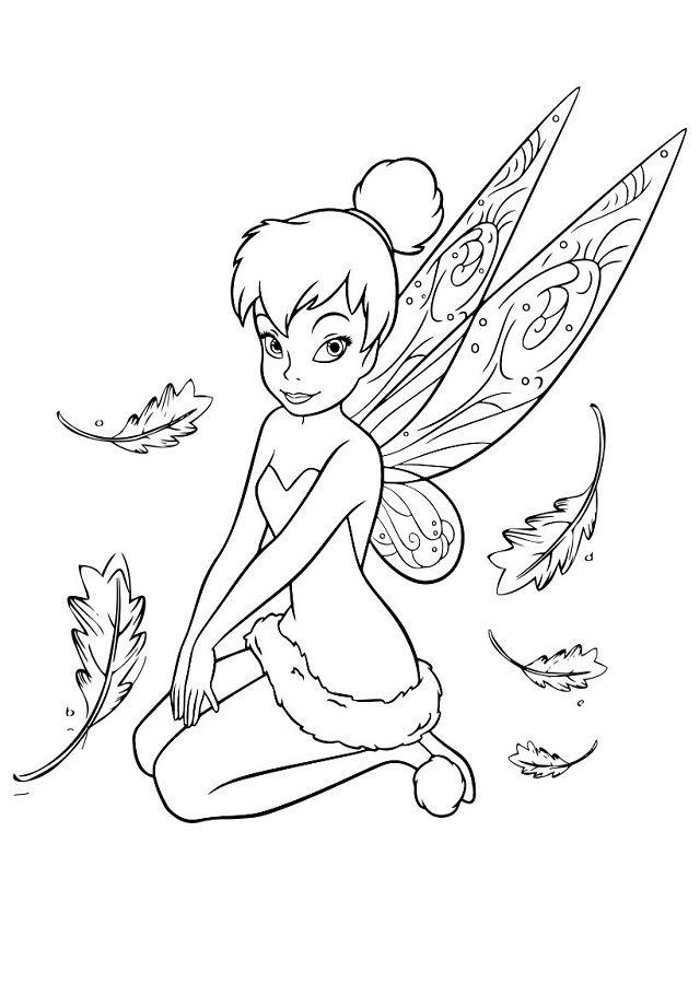 Dibujos para colorearDibujos Campanilla para