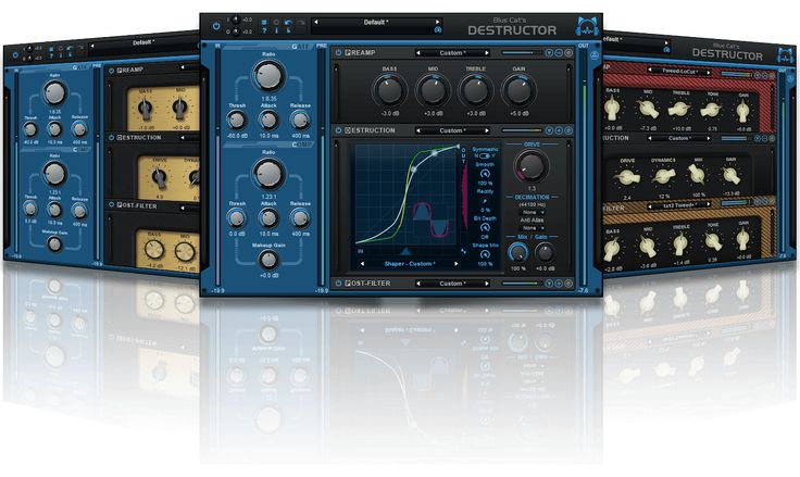 Blue Cat Audio is announcing Blue Cat's Destructor, a comprehensive distortion and amp sim modeling tool capable of simulating any kind of distortion. This new plug-in gives access to an unli…