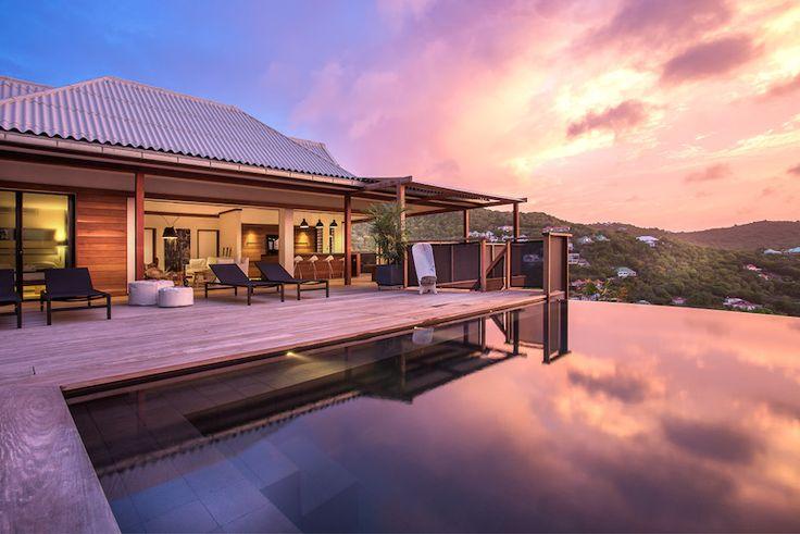 Villa Apache St Barts - 4 br luxury villa to rent in St Jean