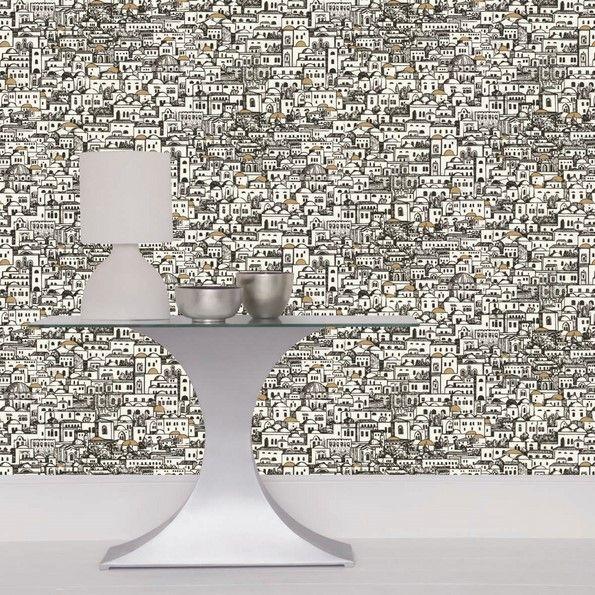 Die besten 25+ Fornasetti Tapete Ideen auf Pinterest Wolken - schöner wohnen tapeten wohnzimmer