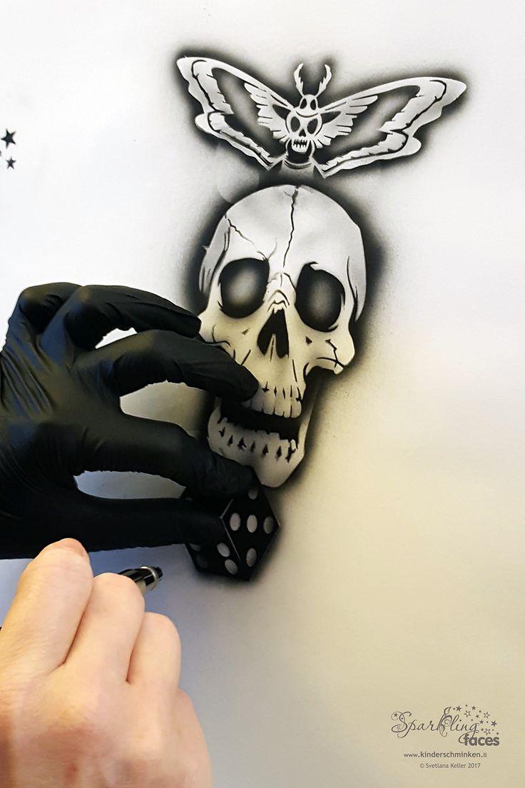 Die besten 25+ Airbrush tattoo Ideen auf Pinterest | Airbrush ...