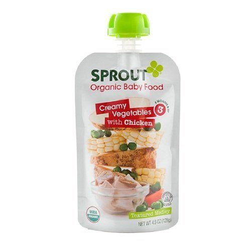 Sprout Creamy Vegetables Chicken 45 Oz 128 Gpack Of 2 Click For