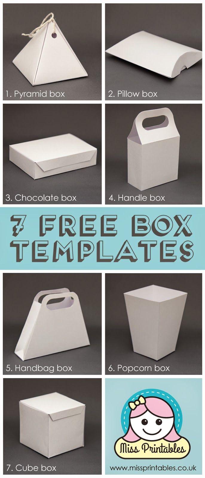 Blank Box Templates