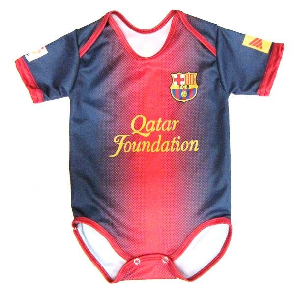 0476db740 FC Barcelona baby onesie for my future boy or girl