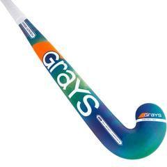 Grays GX2000 Ultrabow Composite Field Hockey Stick - Blue/Green