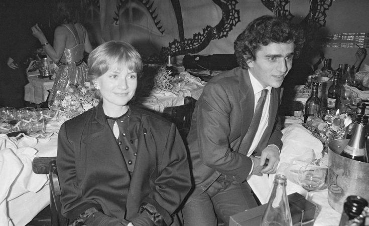 Isabelle Huppert et Ronald Chammah