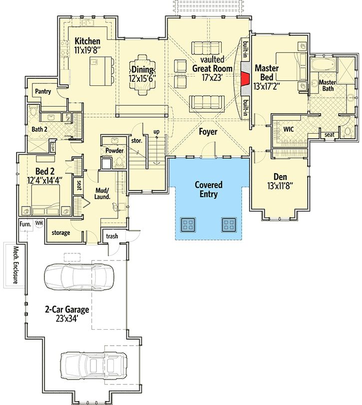 151 best images about floor plans on pinterest bonus for 4 bedroom floor plans with bonus room