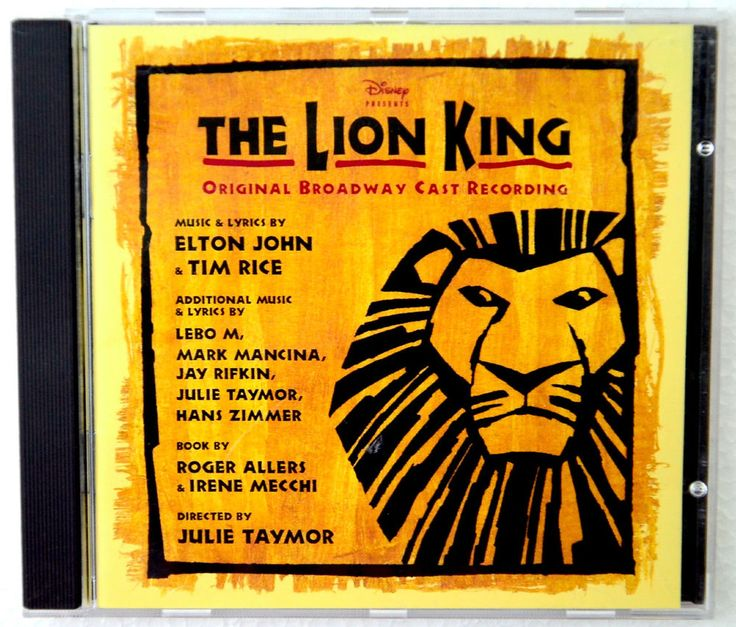 The Lion King: Original Broadway Cast Recording (CD, 1997)  #MusicalOriginalCast @ebay #products #MusicalTheater #music #LionKing #Disney