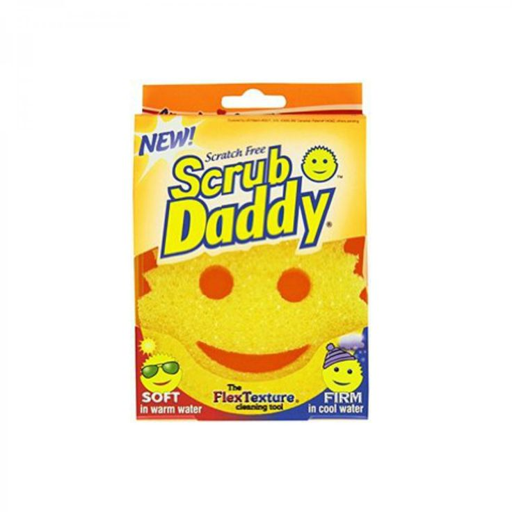 Scrub Daddy Sponge Major scour power and just plain cute. Homedepot.com, $4 - FamilyCircle.com