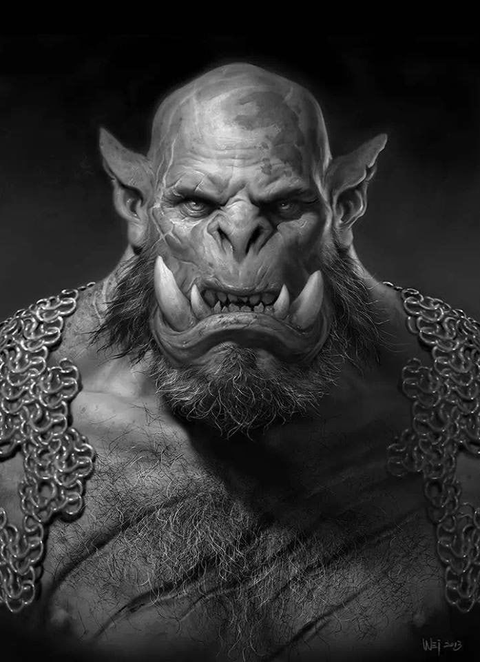 Orgrim Doomhammer (version du film Warcraft : le commencement) - Wei Wang.