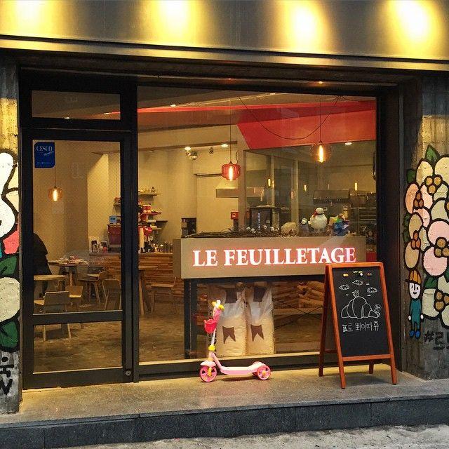 Le Feuilletage 2-1, Yeongpyeong-dong, Yeongdeungpo-gu, Сеул 1F | Кофе El Café находится в Стасе. | 8:00 - 21:00 | Открывайте 10 утра по выходным.