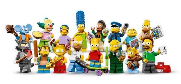 France/Monde   Lego dévoile ses mini-figurines Simpson