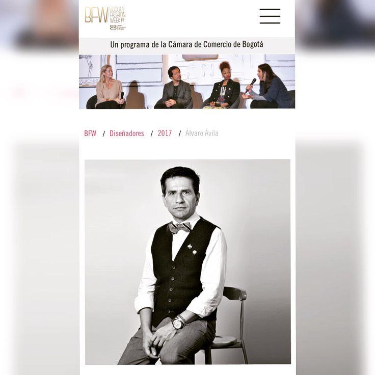 ÁLVARO ÁVILA abre el evento de moda más importante de Bogotá. #BFW2017 www.alvaroavila.com BFW es la plataforma comercial de moda con la que la Cámara de Comercio de Bogotá, busca posicionar a la ciudad como una capital de moda de talla internacional, a través del fortalecimiento y consolidación de las marcas y del diseño como dinamizador de toda la cadena. http://www.bogotafashionweek.com.co/Disenadores/2017/Alvaro-Avila