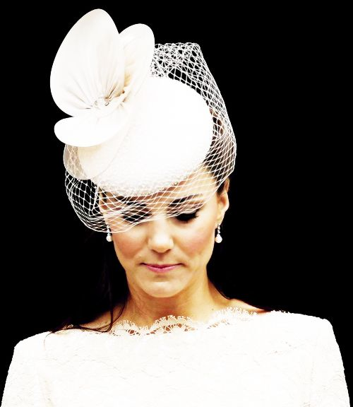 05.06.2012 The Occasion: A special service to mark the Queen's Diamond Jubilee at St Paul's Cathedral  The Outfit: An Alexander McQueen cream lace pencil dress and a hat by young British designer Jane Taylor
