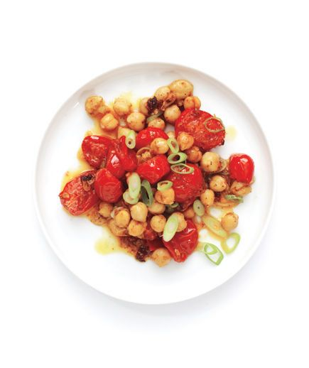 Main Ingredient Recipes: Curried Tomatoes And Chickpeas