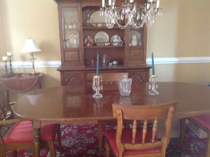 Dining Room Set In NMSMs Garage Sale Canton GA For 30000 Beautiful