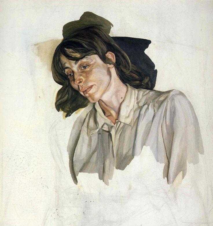 Lucian Freud (British: 1922-2011) - Final Portrait