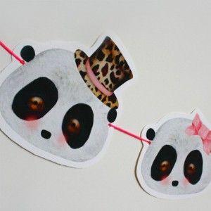 Vintage panda bambi Online Shop Ausstattung Design Jugendzimmer Jungen