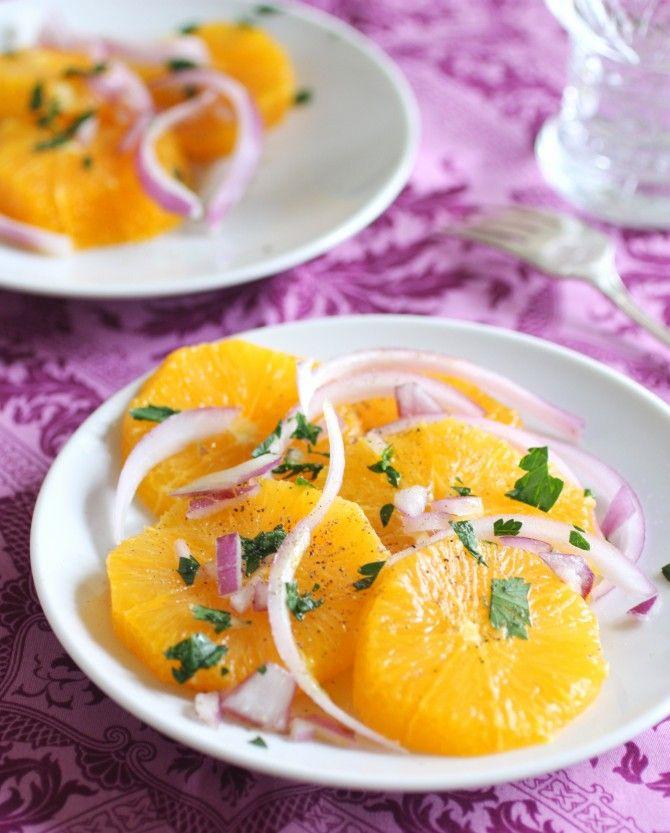 Insalata di Arance: A Sicilian Orange Salad - My Grandma used to make this for us.