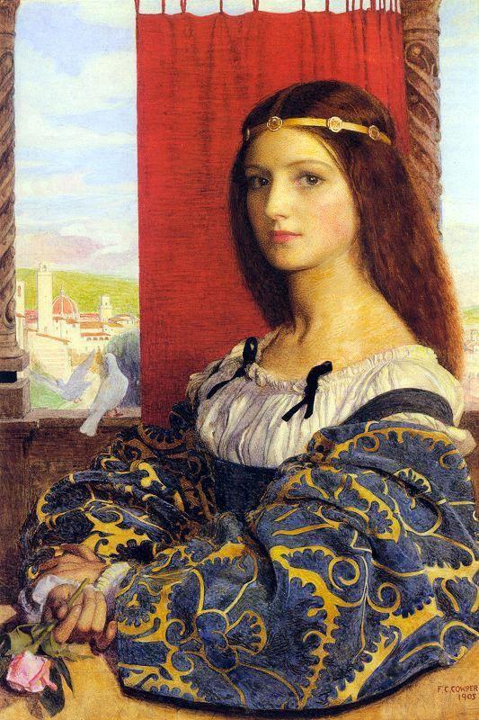 Molly, Duchess of Nona, 1905, by Frank Cadogan Cowper (British, 1877–1958):