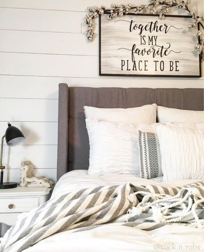 39 The Good The Bad And Farmhouse Master Bedroom Decor Above Bed 46 Inspirabytes Com Bedroom Wall Decor Above Bed Master Bedroom Wall Decor Remodel Bedroom