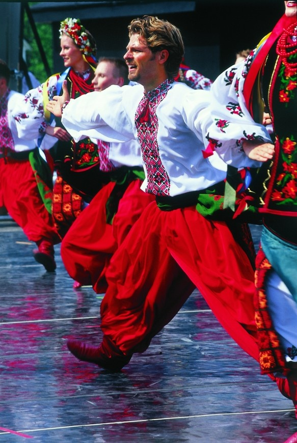 Experience Ukrainian traditions and cuisine in Dauphin, Manitoba at Canada's National Ukrainian Festival in August.