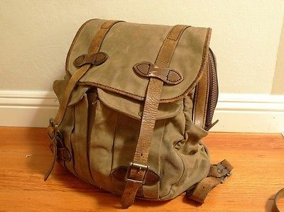 Filson Leather And Canvas Shoulder Bag 82