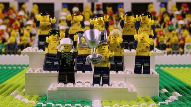 Arsenal's FA Cup final win over Aston Villa: brick-by-brick – video | Football | The Guardian