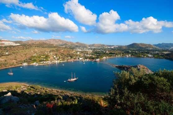 Baie de Bodrum, Turquie. On connait notamment cette baie pour le Mausolée d'Halicarnasse, qui est l'une des Sept merveilles du monde.  Gumusluk Bay Bodrum (Myndos) - iStock/Getty Images