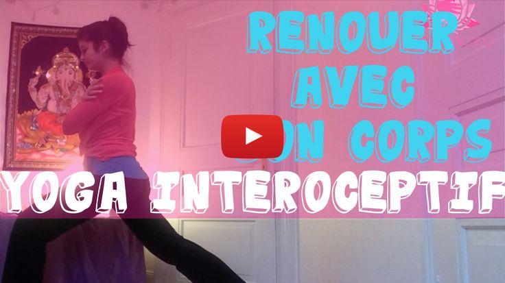 Une vidéo de Yoga intéroceptif pour les personnes atteintes de SSPT (syndrome de stress post traumatique), de troubles du comportement alimentaire, de crises d'angoisse ou tout simplement pour renouer avec son corps.