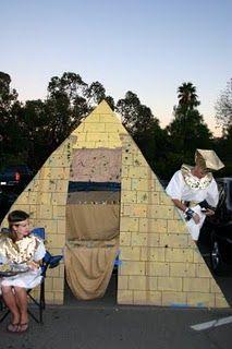 A pyramid trunk