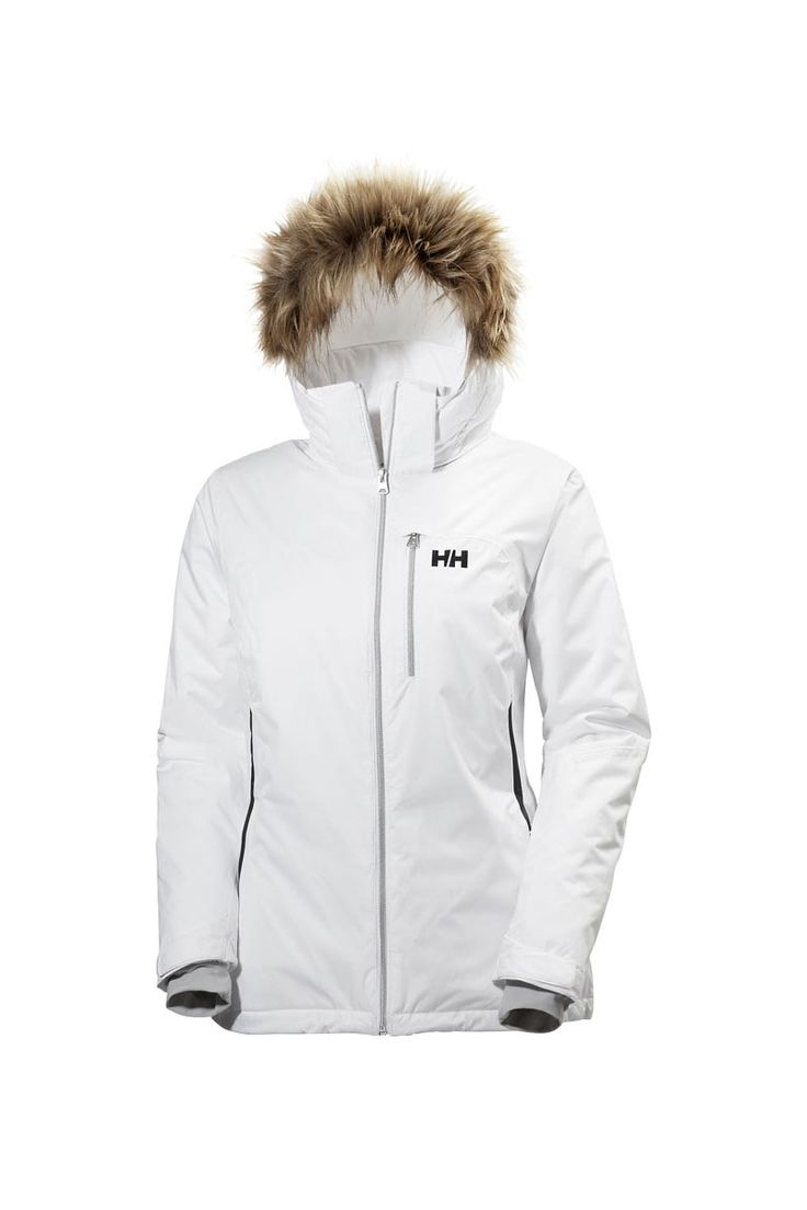 The 2017 Helly Hansen Women's Sunshine Insulated Ski Jacket was built to offer fun on the slopes with the performance to deflect any bad weather that may come your way.