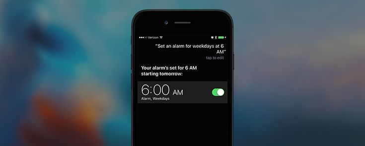 How To Tell Siri to Set an Alarm on Weekdays Only | iPhoneLife.com