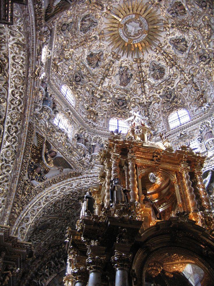 Chapel of the Church of Santo Domingo, Puebla, Mexico