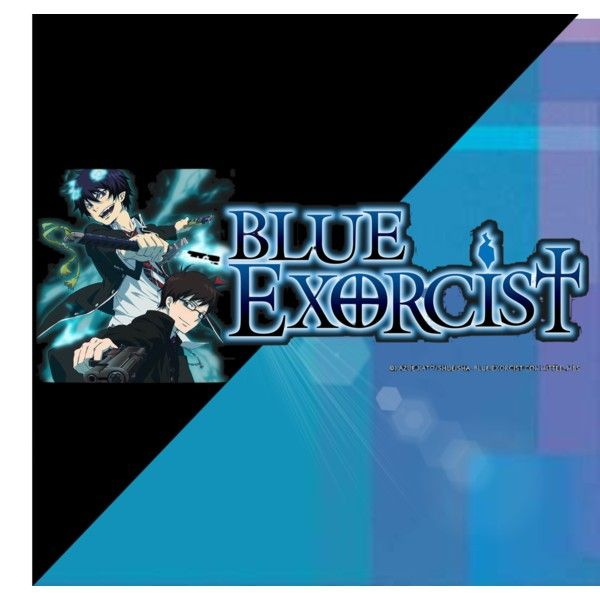 Blue exorcist by jeremiaaah on Polyvore featuring art