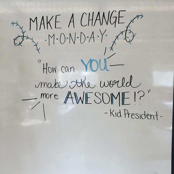 Make it an AWESOME Monday!!! #miss5thswhiteboard #iteach7th #iteachtoo #teachersofinstagram #teachersfollowteachers